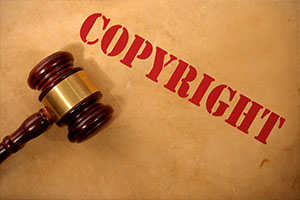 Stolen images with copyrights